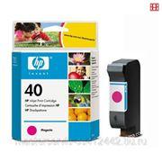 Заправка картриджа HP 40 (Magenta) для принтера HP DJ 1200C,1600C,1600СМ фото