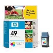 Заправка картриджа HP 49 (51649A) для принтера HP DJ 820,850C,870СXi фотография