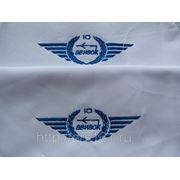 Вышивка логотипов компаний. фото