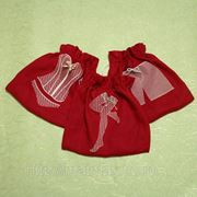 Льняные мешочки для белья фото