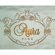 Компьютерная вышивка логотипов фото