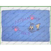 Махровое полотенце с вышивкой фото