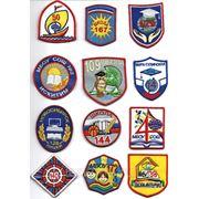 ВЫШИВКА лого. Шевроны фото