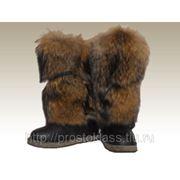 Унты меховые (енотовидная собака) фото