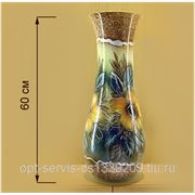 Напольная ваза Осень шамот фото