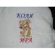 Вышивка на полотенцах и махровых изделиях фото