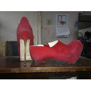 Замена каблуков фото