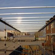 Сдвижные крыши гардинного и шторного типа фото