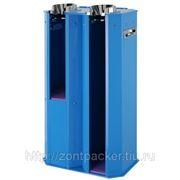 Зонтпэкер упаковщик мокрых зонтов (синий) фотография