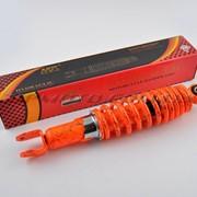 Амортизатор GY6, DIO, LEAD 280mm, регулируемый NDT оранжевый +паутина фото