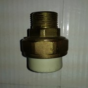 Разъемная муфта металлическая 25 3/4 Н фото
