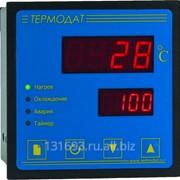 ПИД-регулятор температуры Термодат-12К5 - 1 универсальный вход, 1 дискретный вход, 3 реле, 1 транзисторный выход, интерфейс RS485 фото