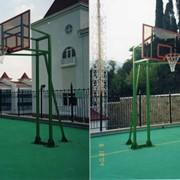 Щиты баскетбольные,стойки cтационарные, мобильные передвижные, корзины, сетки фото