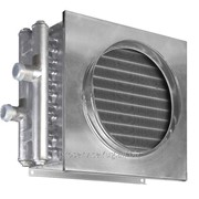Водяной нагреватель для круглых и квадратных каналов Shuft WHC 400x400-2 фото