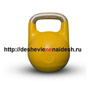 Гиря тренировочная профессиональная (алюм.) 6 кг 416 фото