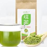 Чай Матча, зеленый чай в порошке, премиум качество, 50 гр. фото