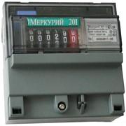 Однофазный однотарифный электросчетчик Меркурий 201.5 вып. 22 августа 2016 фото