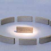 Сегменты алмазные для сверления и резки железобетона фото