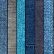Ткань джинсовая фото