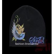 Шапка Sinful Lifedove с птицей фото