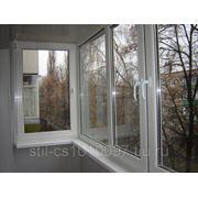 Балкон П-образный фото