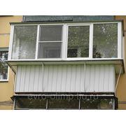 Балкон с выносом вперед фото