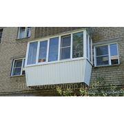 Балконы пластиковые фото