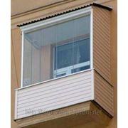 Обшивка балкона (внутренняя) фото