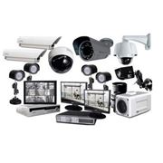 Монтаж систем охранного теленаблюдения фото