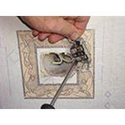 Демонтаж розеток и выключателей фото