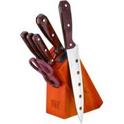 Набор кухонных ножей фото