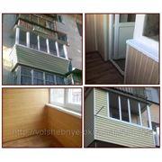 Остекление балкона под ключ Симферополь фото