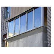 Скління балконів. Прибудова балконів на будь-якому поверсі. фото