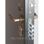 Установка входных дверей (установка металлических дверей) фото