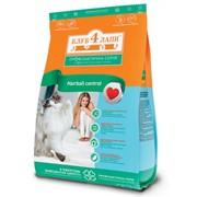 Сухой корм для котов мясные крокеты с эффектом выведения шерсти 11 кг - Клуб 4 лапы фото