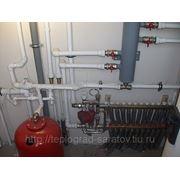 Монтаж отопления в Саратове фото