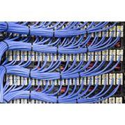 Монтаж сетей связи фото