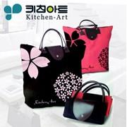 Сумки детские Portable foldable waterproof shopping bag handle shopping bag supermarket shopping bags, free shipping, код 1070689328 фото