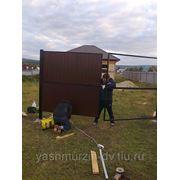 Забор из Профнастила (Профлист) фото