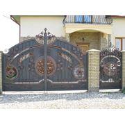 Ворота калитка кованые в Барнауле, эксклюзивная ковка, авторские работы.