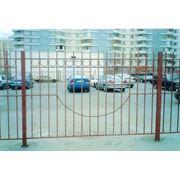 Забор металлический сварной. фотография