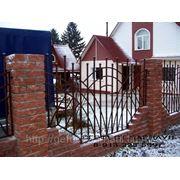Забор сварной, заборы под ключ кованые и сварные.