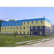 Монтаж фасадов ( промышленные здания) фото