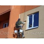 Окраска фасадов фото