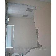 Снос стен из гипса армированного фото