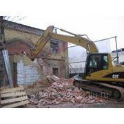 Слом зданий, стен, перекрытий фото