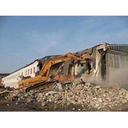 Демонтаж кирпичных зданий фото
