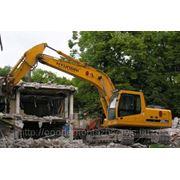Демонтаж домов в Казани. фото