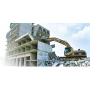 Снос жилых зданий и промышленных сооружений.