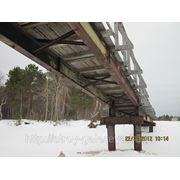 Демонтаж, ремонт и монтаж моста через р.Верховка (с.Нёнокса-с.Сопка)